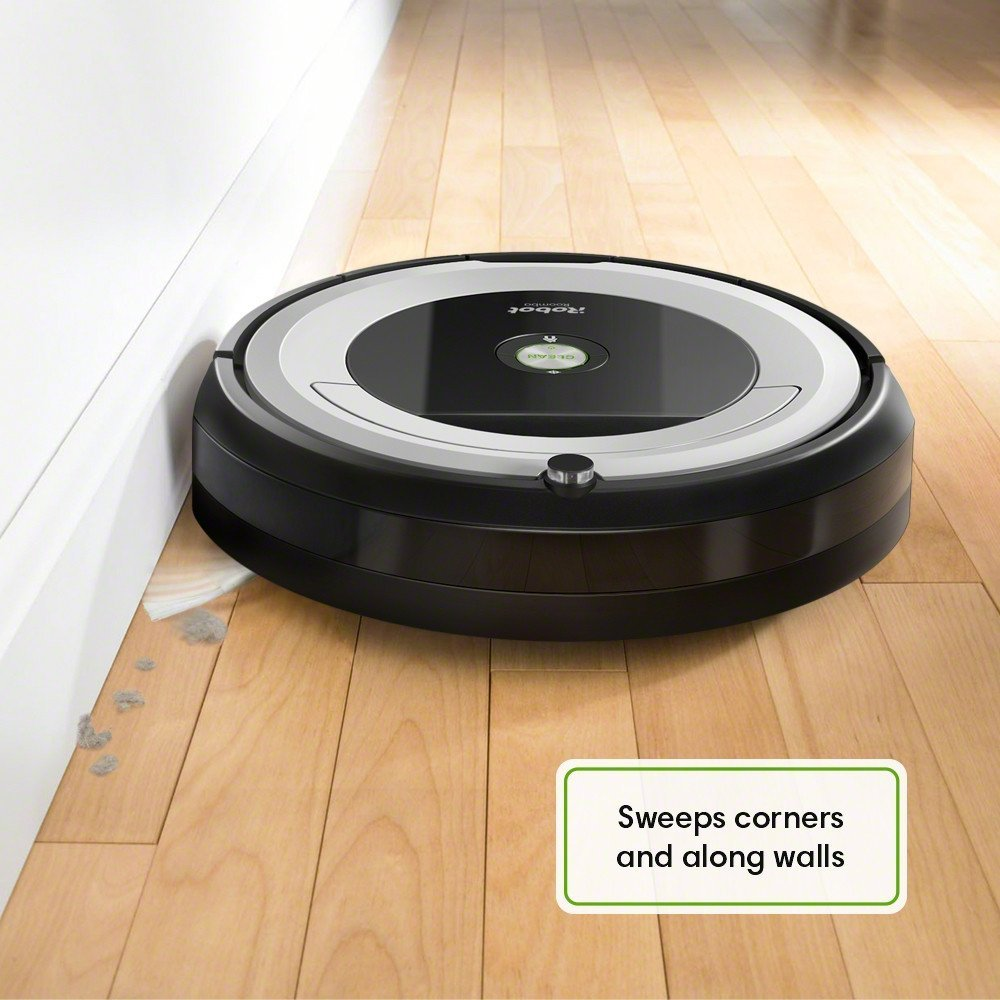 iRobot Roomba 690 Cleaning