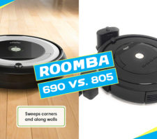 iRobot Roomba 805 vs 690
