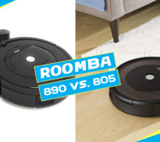 iRobot Roomba 805 vs 890