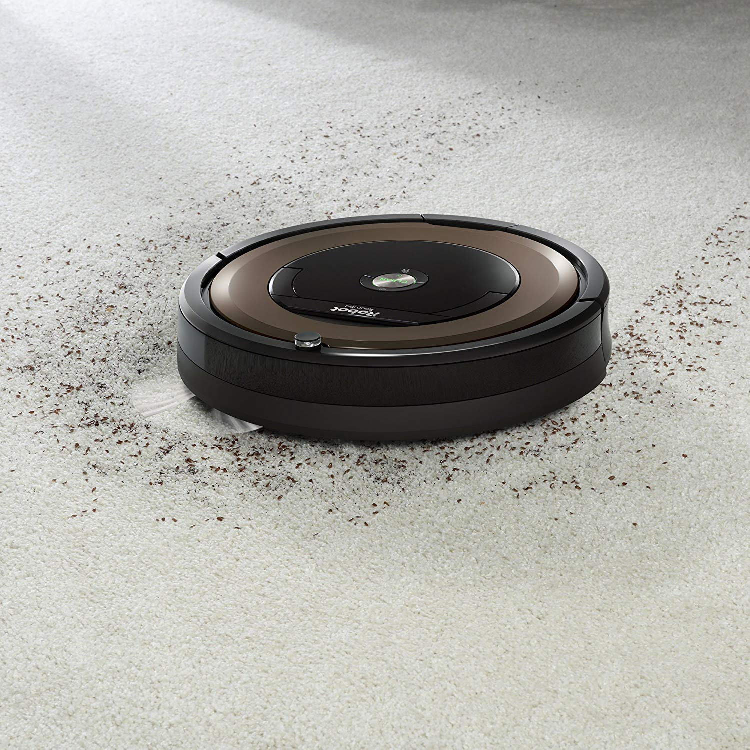 iRobot Roomba 890 Cleaning