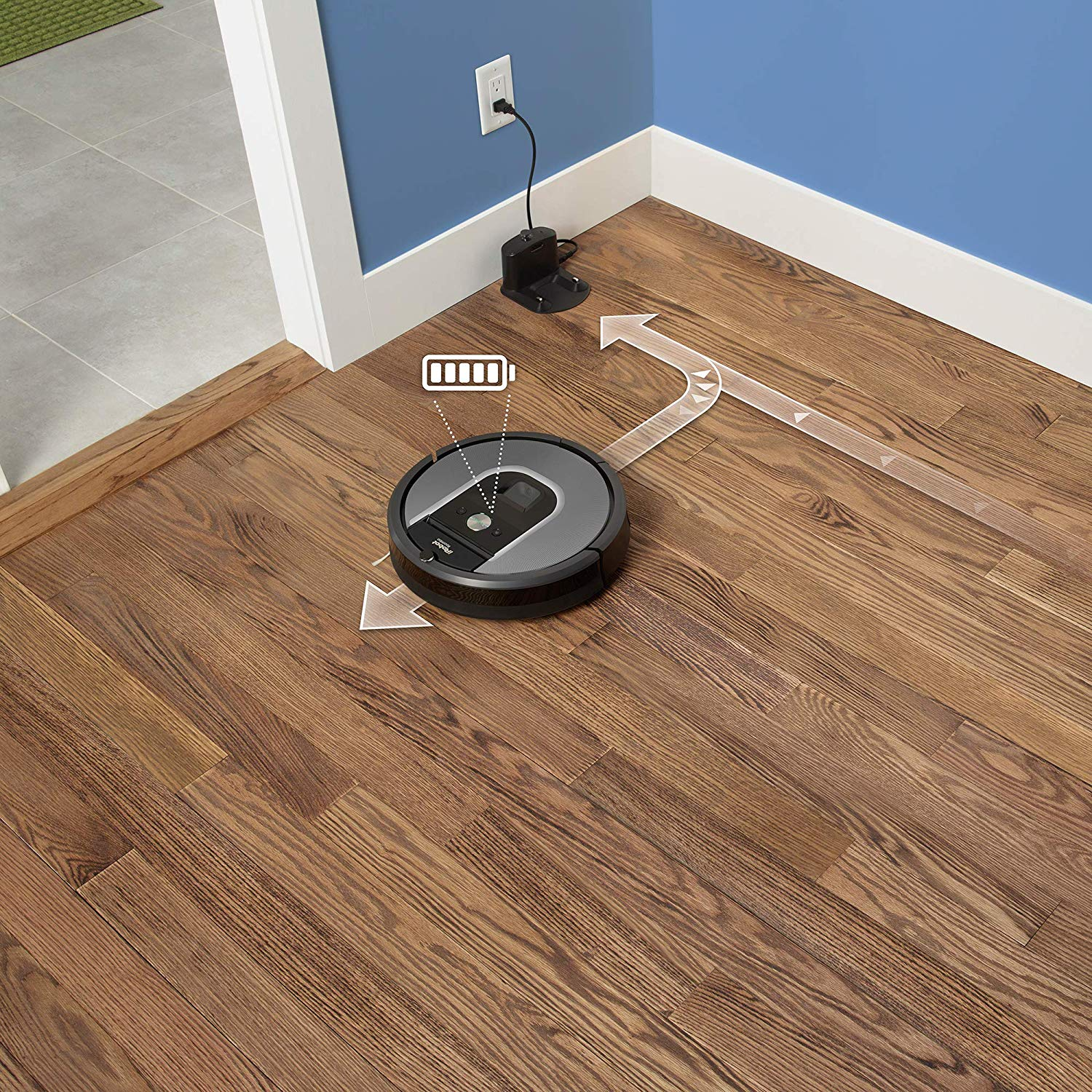 Roomba 960 Automatic charging