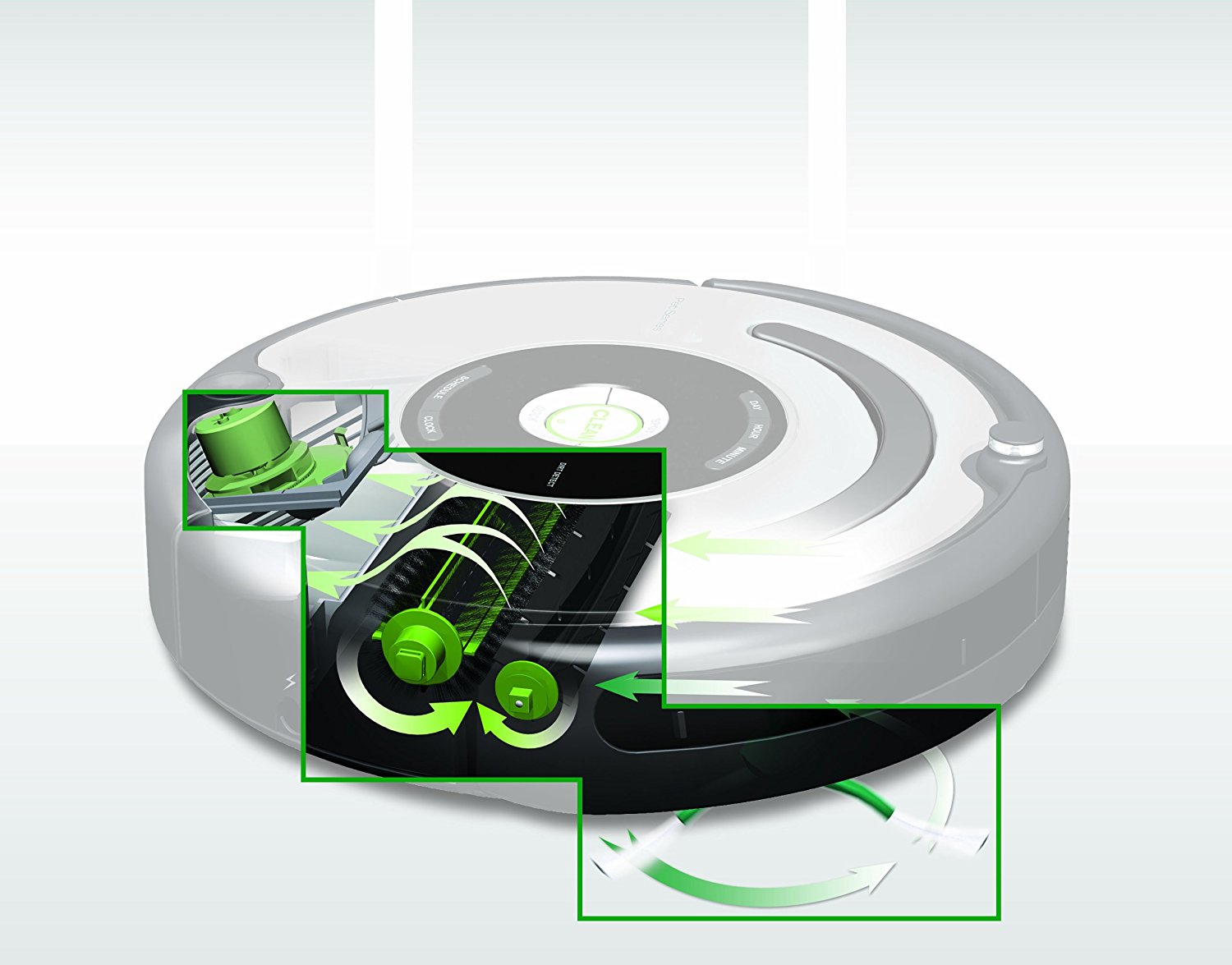 Roomba 650 Built up