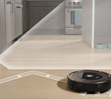 Roomba 890 Premium 3-stage cleaning system