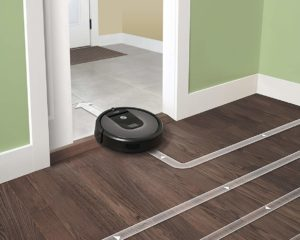 Roomba 960 Sleek design