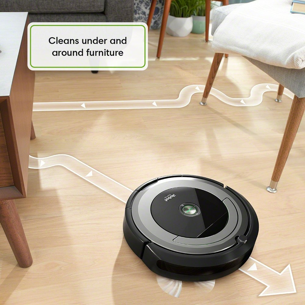 Roomba 690 The thorough cleaning