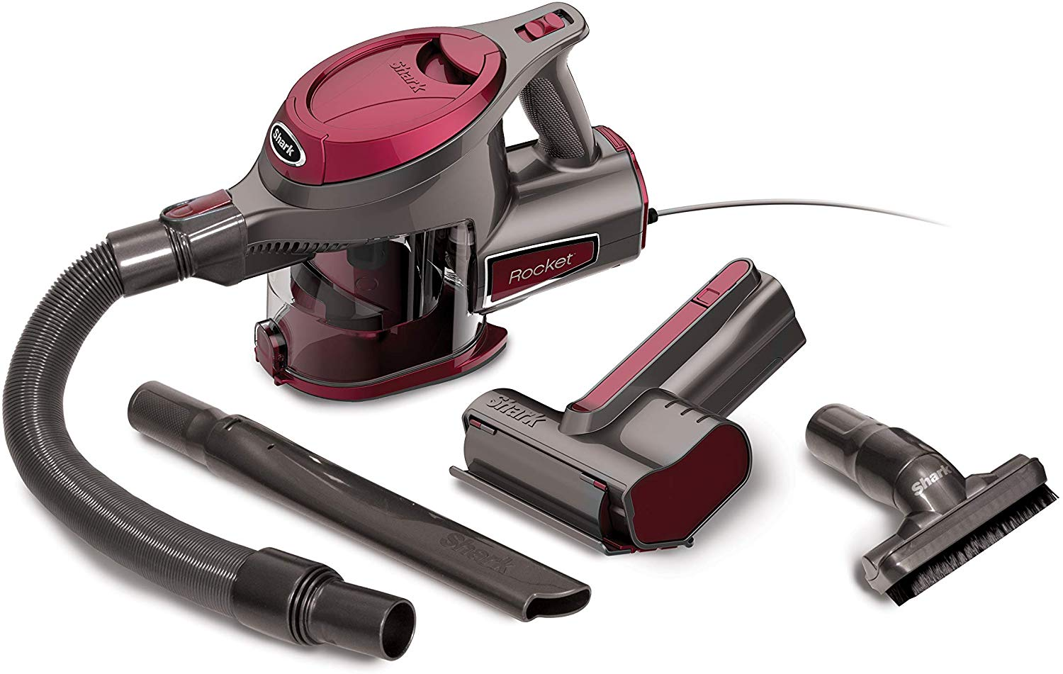 Shark Rocket Ultra-Light with TruePet Mini Motorized Brush Hand Vacuum (HV292)