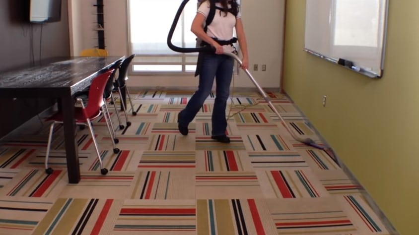 ●The benefits of having a backpack vacuum cleaner