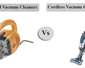 Corded vs Cordless Handheld Vacuum Cleaners
