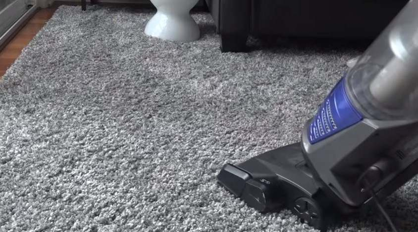 Vacuum a Shag Rug