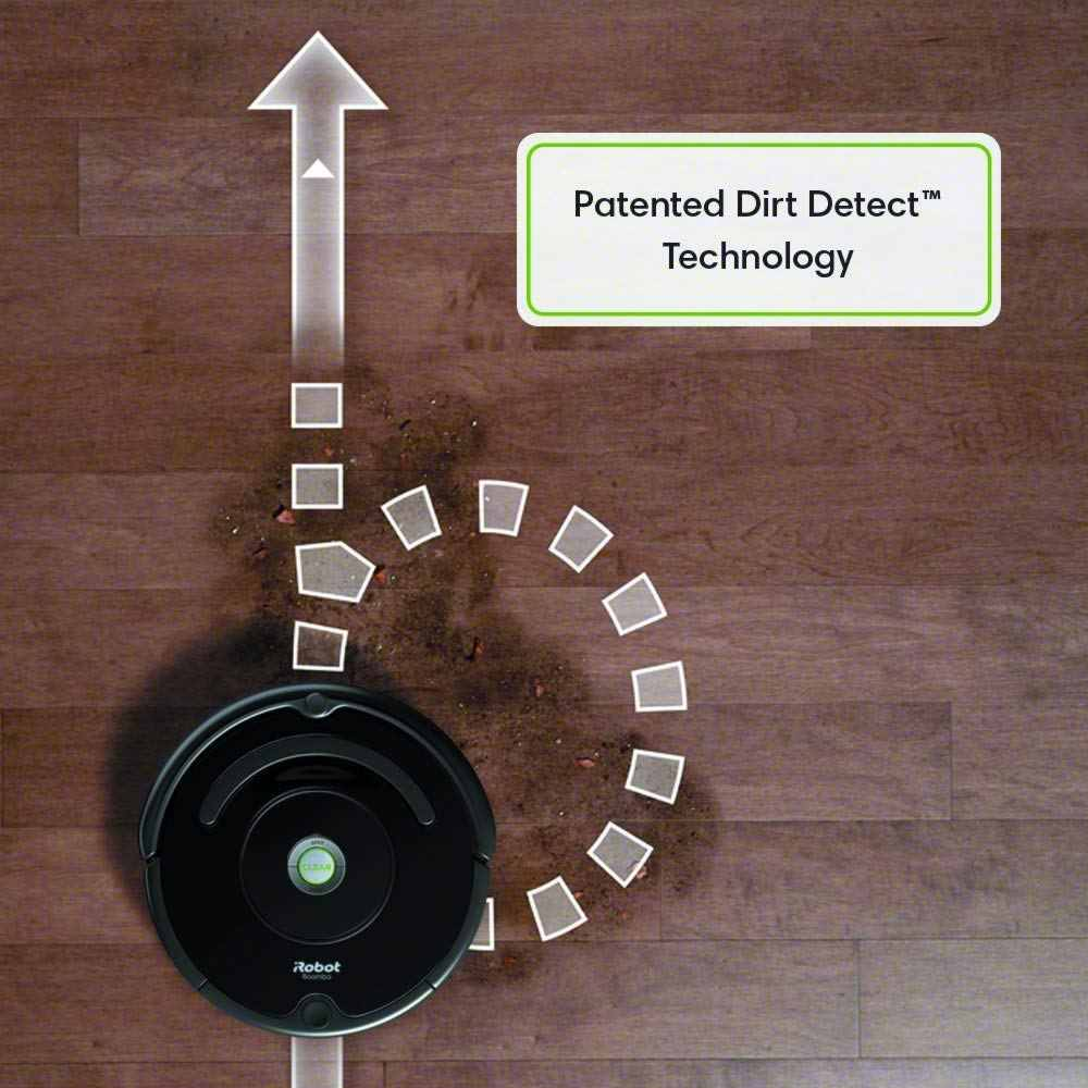 Dirt Detect Technology