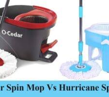 O-Cedar Spin Mop Vs Hurricane Spin Mop
