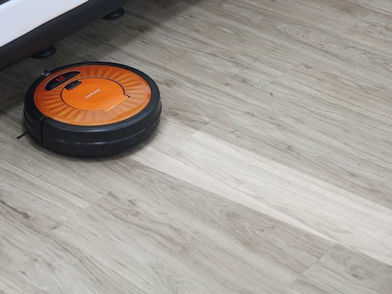 Robotic vacuum cleaners carefully clean underneath the furniture too